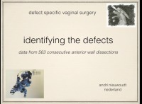Identifying the Defects: Data From 563 Consecutive Anterior Wall Dissections