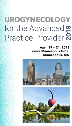 Urogynecology for the Advanced Practice Provider 2018