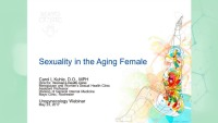 Sexuality in the Aging Female